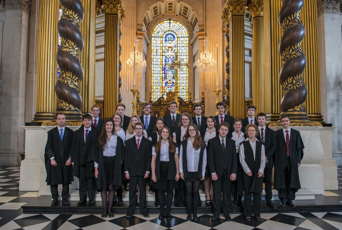 The Choir of Somerville College, Oxford, at St. Paul's Cathedral, London