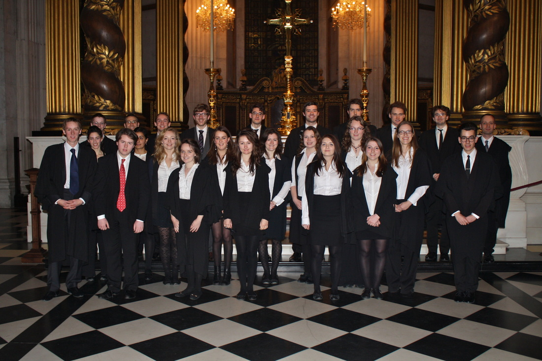 The Choir of Somerville College at St. Paul's Cathedral, London
