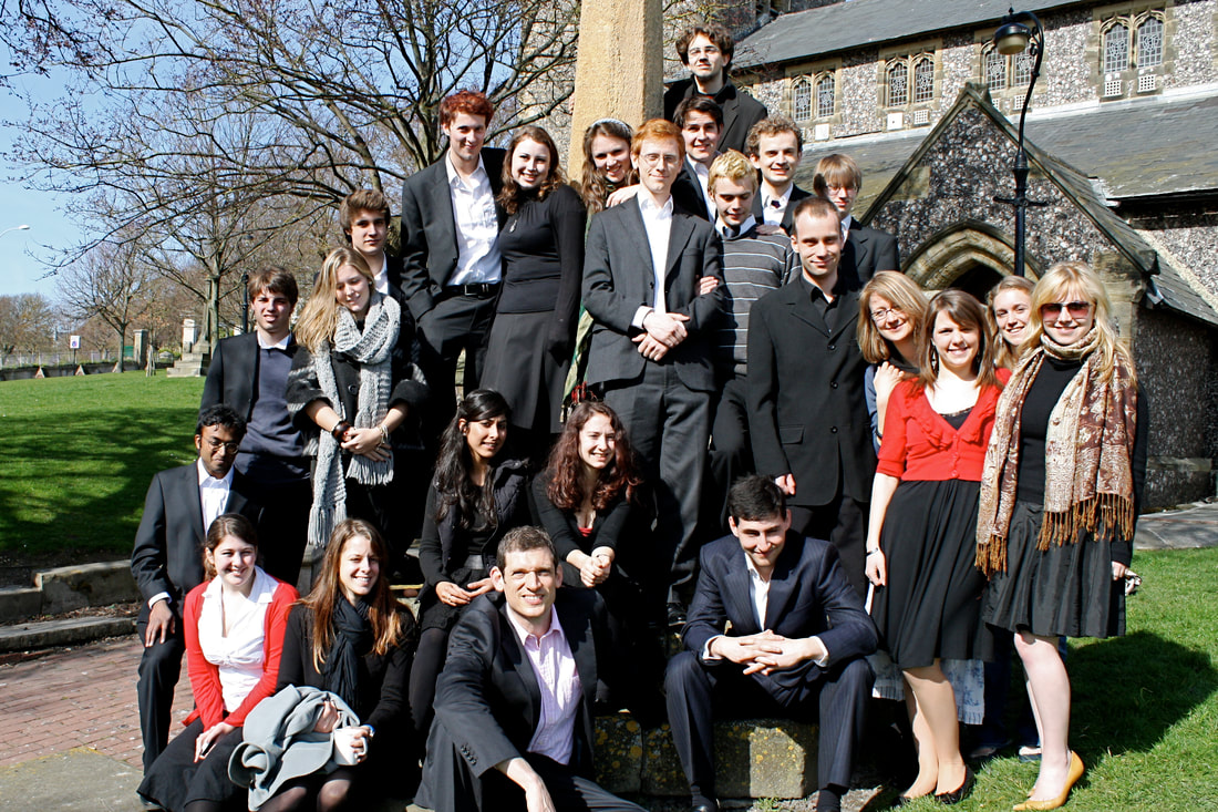 Somerville College Choir 2008/2009
