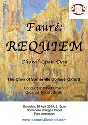 Choral Open Day Poster