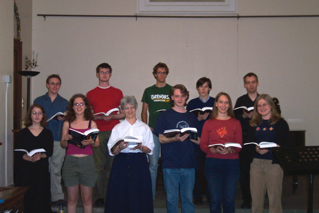 Somerville College Choir 2003/2004