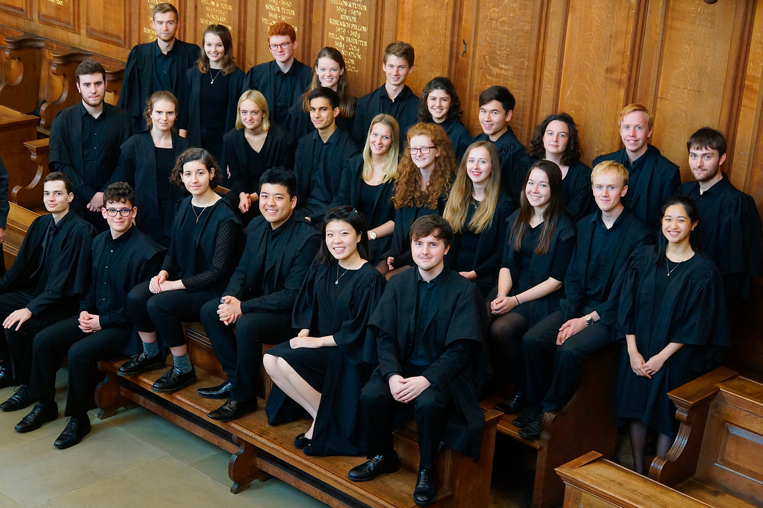 Somerville College Choir 2018/2019